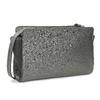 Crossbody kabelka s kamínky bata, šedá, 961-1885 - 13
