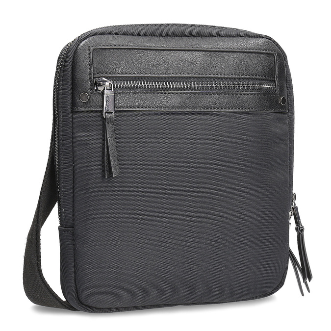 Pánská černá taška crossbody bata, černá, 969-6692 - 13