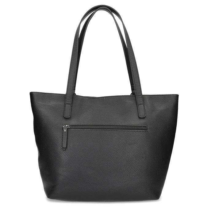 Černá kabelka se cvočky gabor-bags, černá, 961-6036 - 16