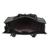 Dámská kabelka s mašlí černá gabor-bags, černá, 961-6037 - 15