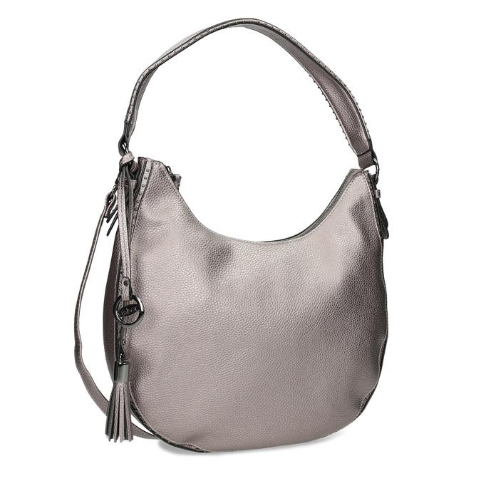 Stříbrná kabelka s ramenním popruhem gabor-bags, bronzová, 961-1044 - 13