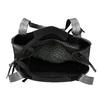 Černá kabelka s metalickými detaily gabor-bags, černá, 961-6069 - 15