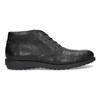 Kotníčková kožená pánská obuv černá flexible, černá, 894-6704 - 19