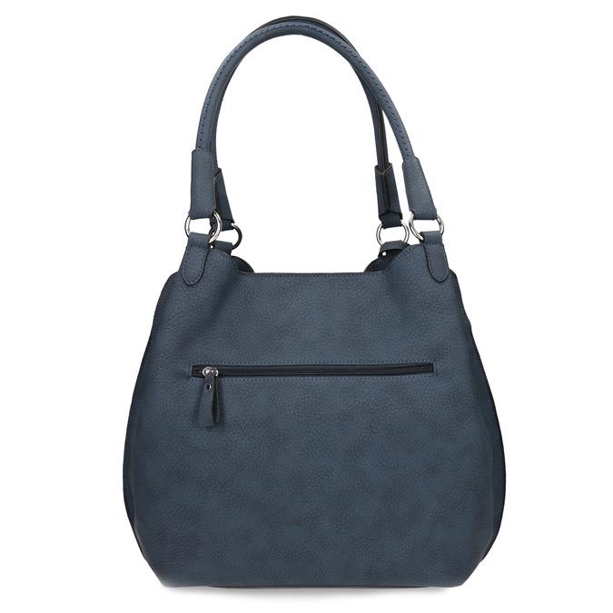 Tmavě modrá dámská kabelka gabor-bags, fialová, 961-9024 - 16