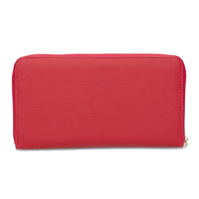 Dámská červená peněženka se zipem bata, červená, 941-5221 - 16