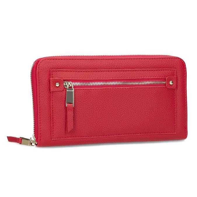 Dámská červená peněženka se zipem bata, červená, 941-5221 - 13