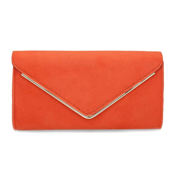 Cihlově oranžové psaníčko bata, červená, 969-5707 - 26