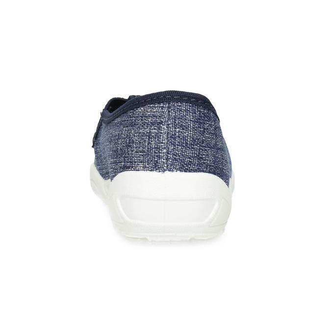 Modré dětské přezůvky s potiskem mini-b, modrá, 379-2219 - 15