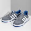 Šedé dětské ležérní tenisky adidas, šedá, 401-2337 - 16
