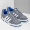 Šedé dětské ležérní tenisky adidas, šedá, 401-2337 - 26