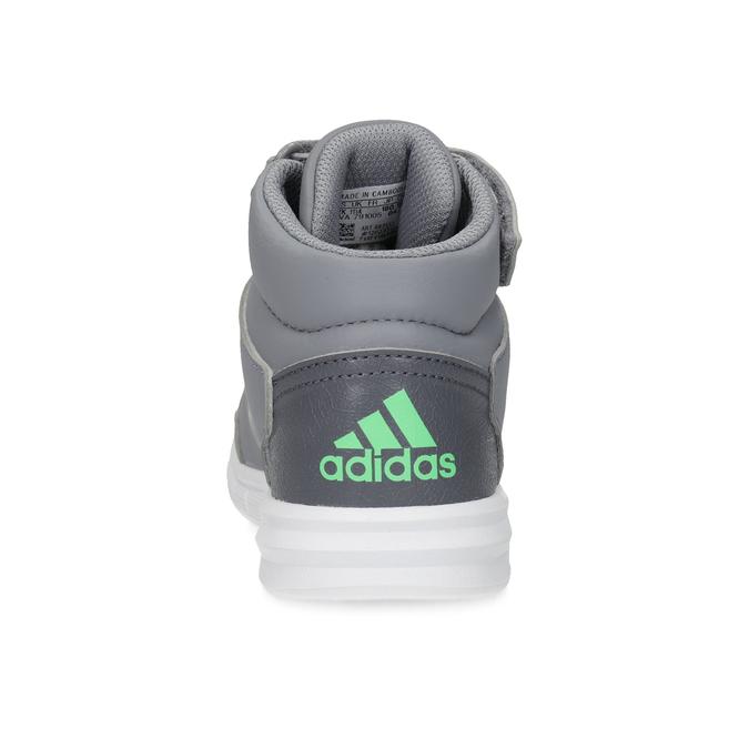 Dětské šedé kotníčkové tenisky adidas, šedá, 301-2220 - 15