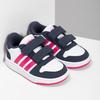 Bílé dětské tenisky na suché zipy adidas, vícebarevné, 101-1194 - 26