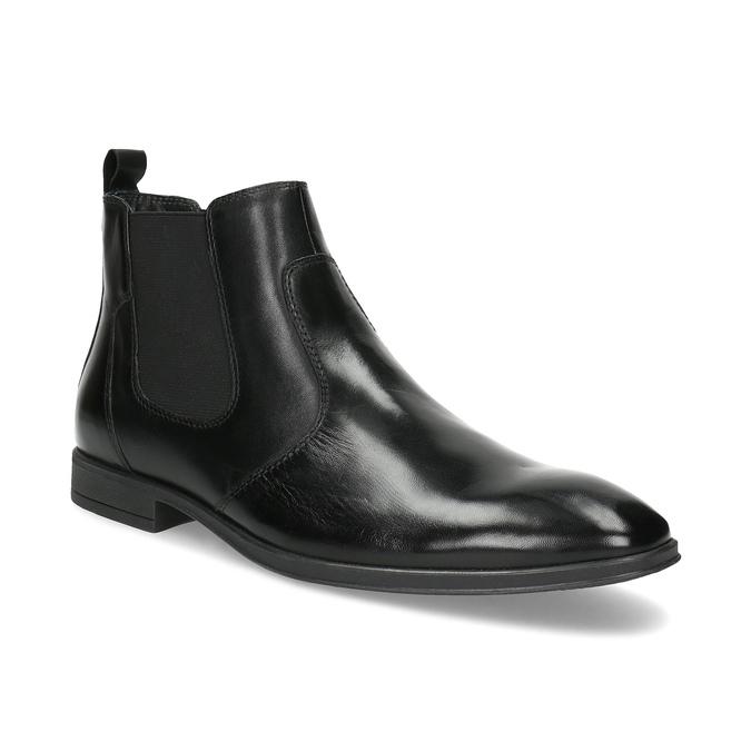 Kožená pánská kotníčková Chelsea obuv bata, černá, 824-6890 - 13