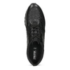 Ležérní dámské tenisky s výraznou podešví geox, černá, 621-6084 - 17