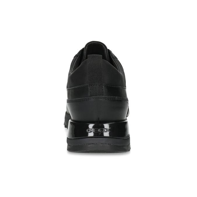 Ležérní dámské tenisky s výraznou podešví geox, černá, 621-6084 - 15