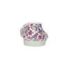 Dětské přezůvky s květinovým vzorem bata, bílá, 379-5001 - 15
