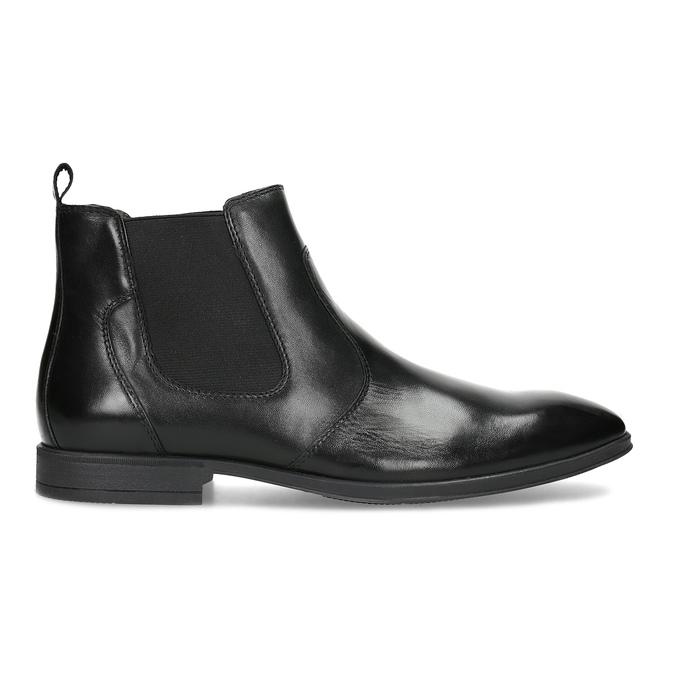 Kožená pánská kotníčková Chelsea obuv bata, černá, 824-6890 - 19