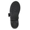 Kožená kotníčková dětská obuv mini-b, černá, 424-6600 - 18