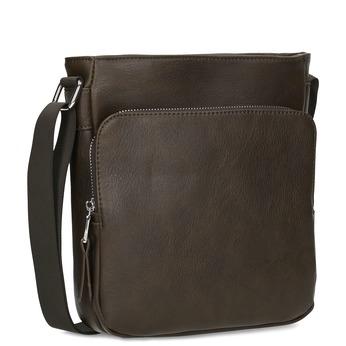 Hnědá pánská Crossbody taška bata, hnědá, 961-4783 - 13