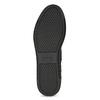 Dámské černé kozačky s výrazným zipem bata, černá, 691-6636 - 18