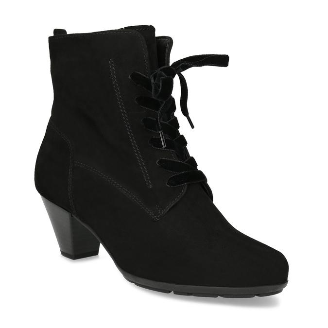Gabor Dámské zimní polokozačky na podpatku - Všechny boty  76d7dd578b