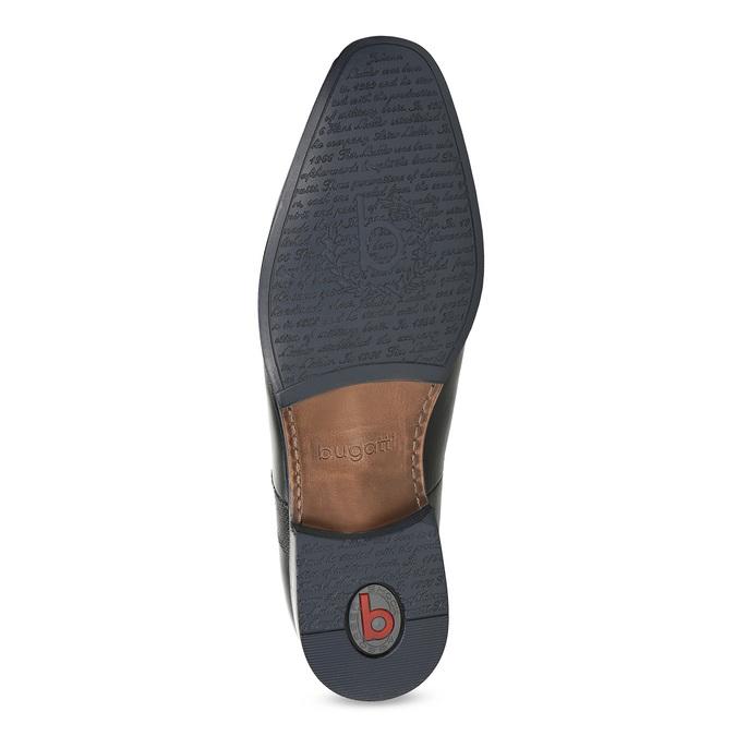 Černá kožená kotníčková obuv bugatti, černá, 814-6013 - 18
