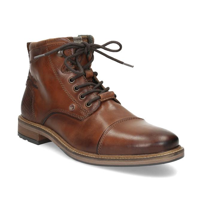 Hnědá kotníčková obuv bugatti, hnědá, 826-3080 - 13