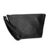 Černá kožená kabelka s páskem na zápěstí vagabond, černá, 964-6012 - 13