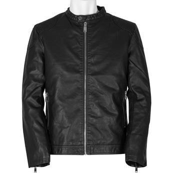 Pánská černá jarní bunda bata, černá, 971-6221 - 13