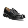 Kožené Penny Loafers mokasíny černé comfit, černá, 814-6627 - 13