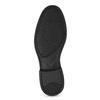 Kožené Penny Loafers mokasíny černé comfit, černá, 814-6627 - 18