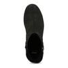 Dámské černé kozačky se zipy bata, černá, 691-6637 - 17