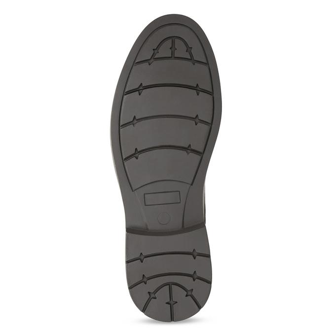 Pánské polobotky tmavě šedé bata-red-label, šedá, 821-2606 - 18