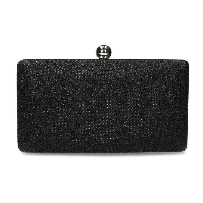 Černé třpytivé psaníčko bata, černá, 969-6702 - 26