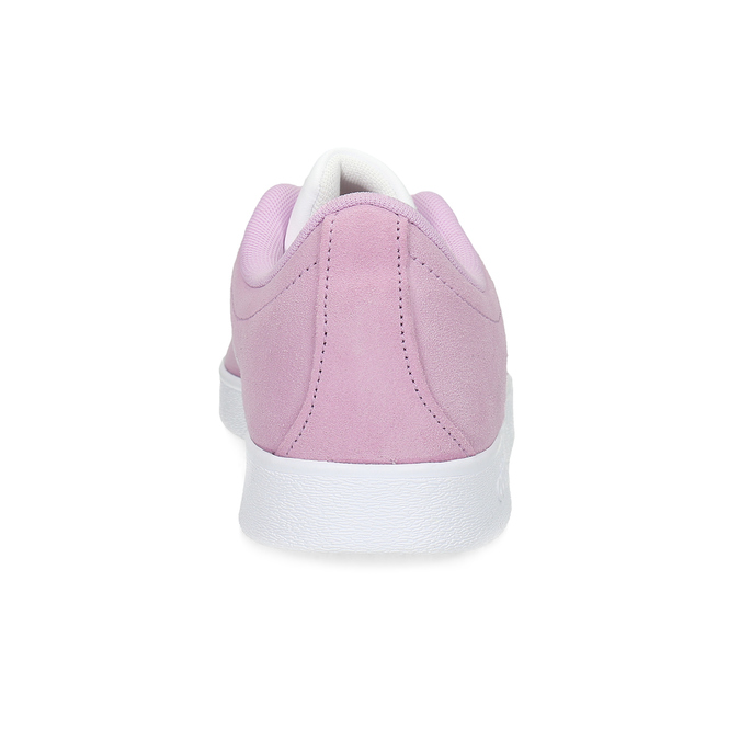 Dětské kožené tenisky růžové adidas, růžová, 403-5361 - 15