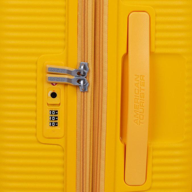 Žlutý kufr na kolečkách american-tourister, žlutá, 960-8614 - 15
