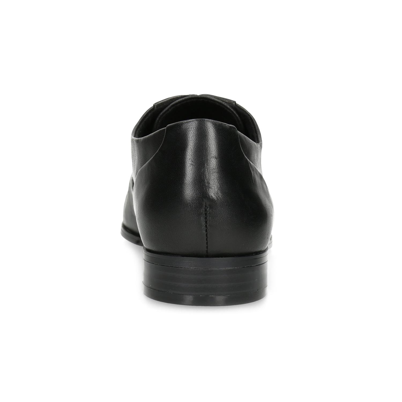 03b4c834945 Baťa Dámské kožené černé Oxfordky - Polobotky