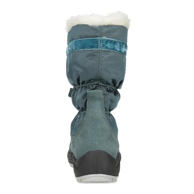 Dívčí sněhule s kamínky mini-b, modrá, 399-7658 - 15