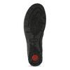 Kožená dámská kotníčková obuv comfit, černá, 594-6707 - 18