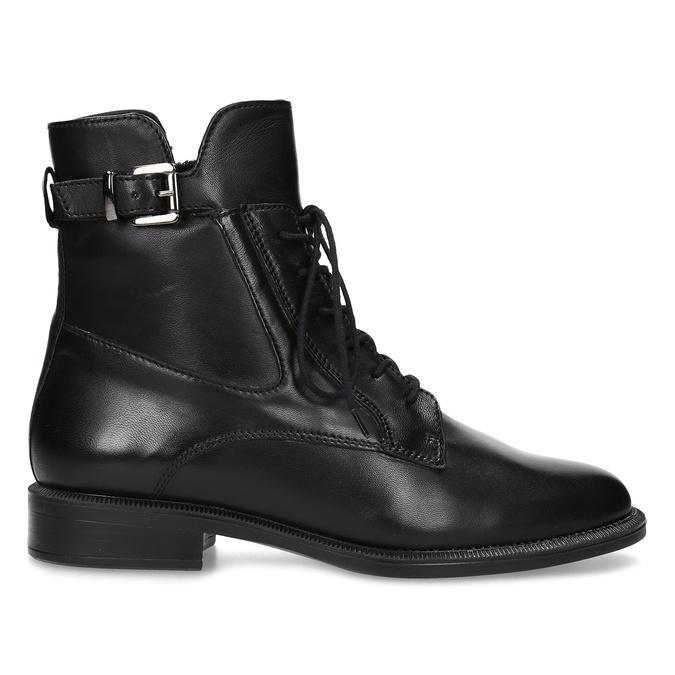 Zimní kotníčková obuv s přezkou bata, černá, 594-6674 - 19