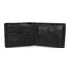 Kožená peněženka s modrým prošitím bata, černá, 944-6218 - 15
