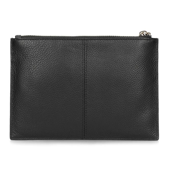 Kožená kapsička s poutkem bata, černá, 944-6222 - 16