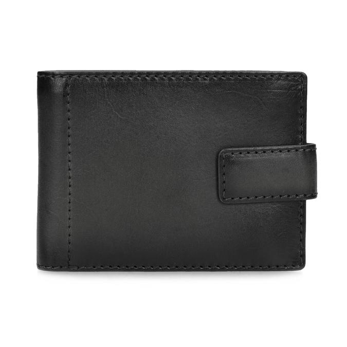 Kožená černá pánská peněženka bata, černá, 944-6219 - 26