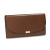 Dámská kožená peněženka hnědá bata, hnědá, 944-3228 - 13