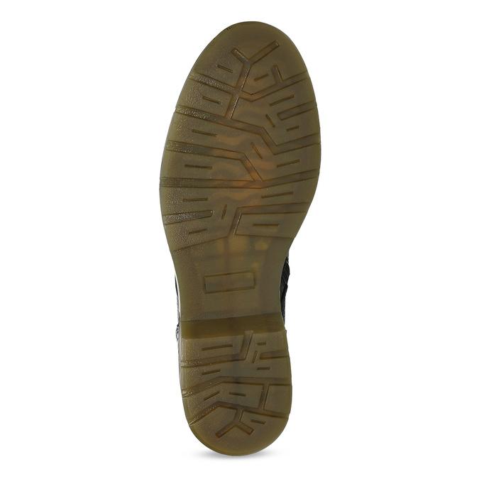 Černá dámská kožená obuv v Chelsea stylu bata, černá, 596-6732 - 18
