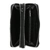 Dámská prostorná černá peněženka bata, černá, 941-6616 - 15