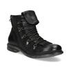Kožená zimní pánská obuv bata, černá, 896-6744 - 13