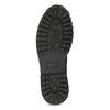 Pánská kožená zimní obuv černá bata, černá, 896-6735 - 18