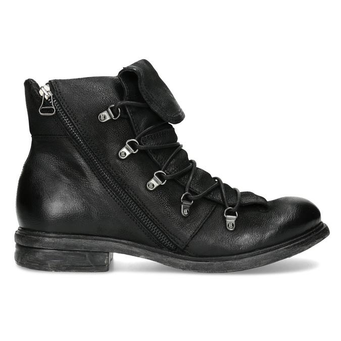 Kožená zimní pánská obuv bata, černá, 896-6744 - 19