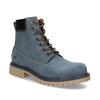 Modrá kožená dámská kotníčková obuv weinbrenner, modrá, 596-9728 - 13